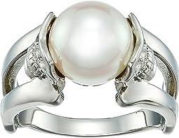 Majorica - 10mm Round Skull Ring