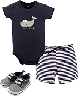 Unisex Baby Bodysuit, Bottoms and Shoes