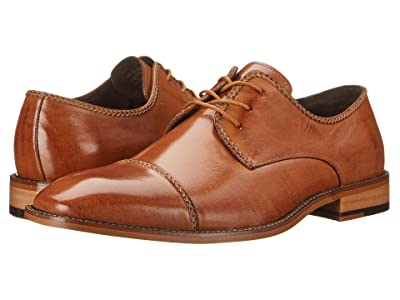 Stacy Adams Brayden Cap Toe Oxford (Tan) Men