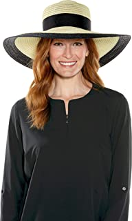 Coolibar UPF 50+ Women's Elegant Tiki Hat - Sun Protective