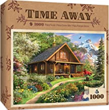 exocos 1000 Piece Jigsaw Puzzle Lakeshore Cabin Challenge for Adults /& Teens