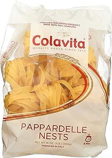 Colavita Pappardelle Nest Pasta, 1 Pound (Pack of 10)