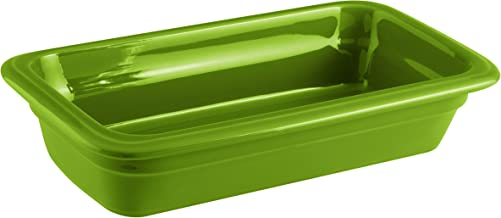 Paderno World Cuisine 44317G06 Induction Porcelain Hotel Pan, X-Small, Green