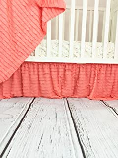 Best coral crib skirt Reviews