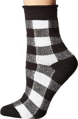 Thin Rolled Fleece Socks