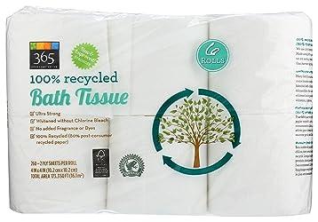 365 Everyday Value, Bath Tissue, 6 ct