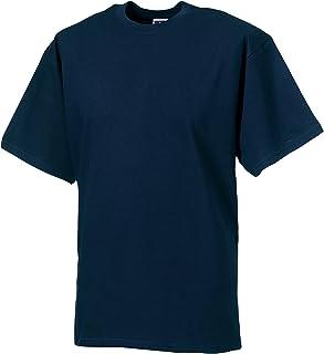 Russell Europe Mens Classic Heavyweight Ringspun Short Sleeve T-Shirt