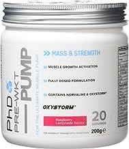 PhD Nutrition Pre-Workout Supplement Pump Raspberry Lemonade Estimated Price : £ 13,95