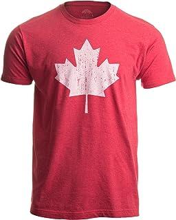 3957a1341 Canada Pride | Vintage Style, Retro-Feel Canadian Maple Leaf Unisex T-Shirt