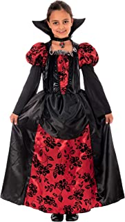 Bambini Vampiro Costume Halloween Bambino Dracula Travestimento 4-9 Anni