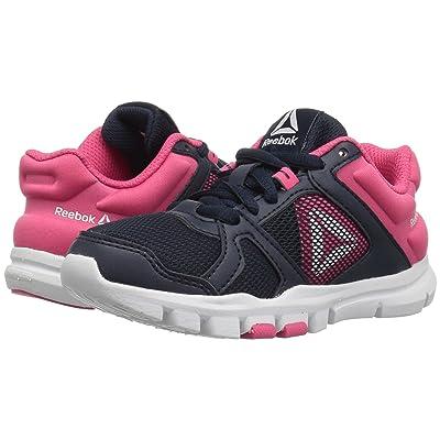 Reebok Kids Yourflex Train 10 (Little Kid/Big Kid) (Navy/Pink) Girls Shoes