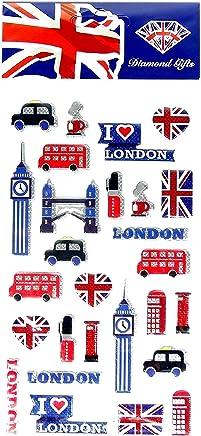 London Icons Sticker Set UK Souvenir! Souvenir / Speicher / Memoria! Highly Collectible Stickers, Every London Icon Represented! Fun, Unusual British UK Collectible Souvenir! A Unique and Educational Souvenir! Autocollants / Aufkleber / Adesivi / Pegatinas!
