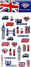 London Icons Sticker Set - UK Souvenir/Every Landmark Represented/British Token for Home or School