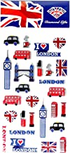 London Icons Sticker Set - UK Souvenir/Every Landmark Represented/British Token for Home or School