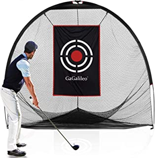 Gagalileo Golf Practice Net for Backyard Golf Hitting Nets Golf Net Practice Golf Net Indoor Outdoor Driving Range Training Aids with Carry Bag and Target(Optional)