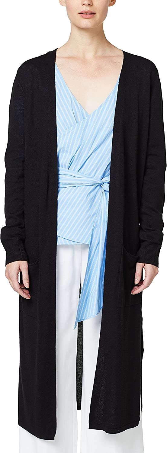 Esprit Women's Fine Textured Long Cardigan