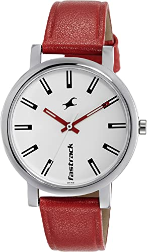 Fastrack Fundamentals Analog White Dial Women's Watch NM68010SL01/NN68010SL01