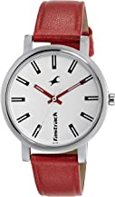 Fastrack Fundamentals Analog White Dial Women's Watch NM68010SL01 / NL68010SL01