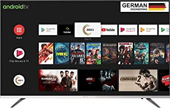 METZ 81 cm (32 inches) HD Ready Certified Android Smart LED TV M32E6 (Black and silver)