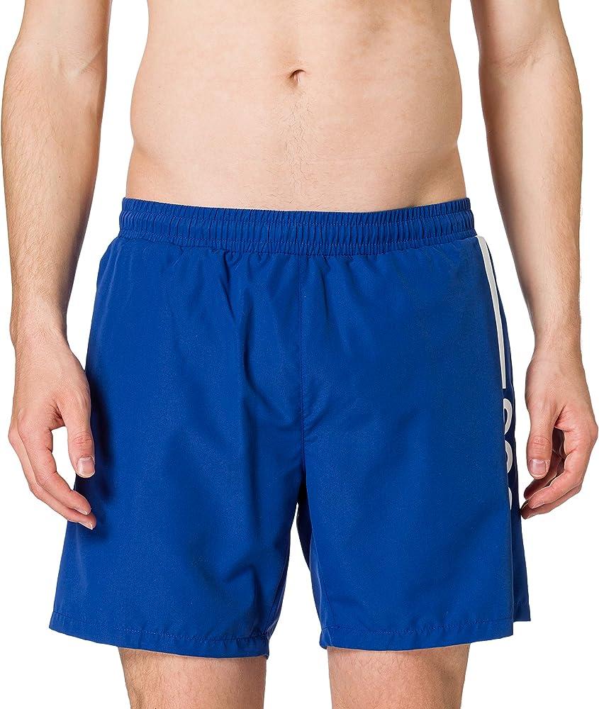 Hugo boss dolphin, costume a pantaloncino per uomo, 100% poliestere ,  BLU 50439746E