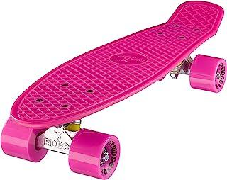 Ridge Mini Cruiser Skateboard, Rosa