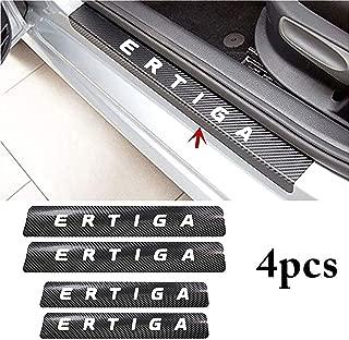 ISEE 360® 4PCS Car Sticker Universal Anti-Scratch Door Sill Car Decal Car Sticker Decal (Ertiga)