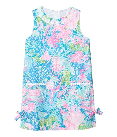 Lilly Pulitzer Kids Little Lilly Classic Shift Dress (Toddler/Little Kids/Big Kids) (Multi Fished My Wish) Girl