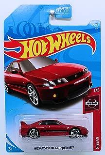 Hot Wheels 2019 Nissan Nissan Skyline GT-R (BCNR33) 6/250, Maroon
