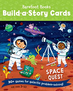 Barefoot Books Build-A-Story Cards: Space Quest - Multicolor (9781782859345)