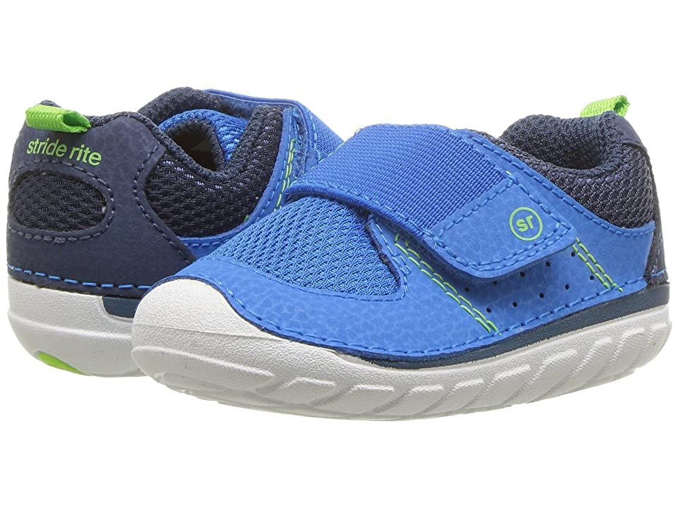 Stride Rite Soft Motion Ripley (Infant/Toddler) (Royal/Navy) Boys Shoes
