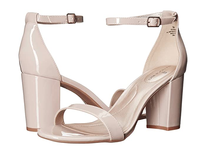 Bandolino  Armory (Light Natural Synthetic Patent) Womens Sandals