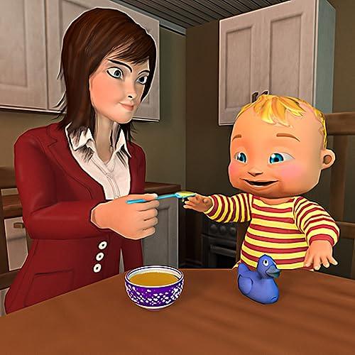 Muttersimulator 3D: virtueller Babysimulator glückliche Familienmamaspiele