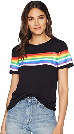 Rainbow Printed T-Shirt