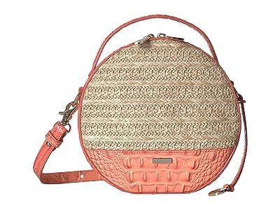 Brahmin Mantle Lane Crossbody (Poppy) Cross Body Handbags