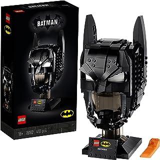LEGO 76182 Batman Masker Weergavemodel voor Volwassenen met Displaystandaard, Perfect Cadeauidee voor Batman Fans