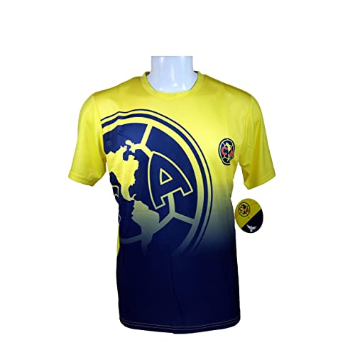 166c1ec2d Club America Soccer Official Adult Soccer Training Performance Poly Jersey  P006