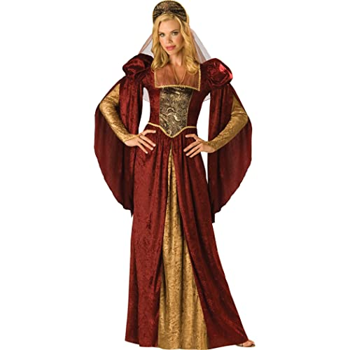 Renaissance Maiden Ladies Fancy Dress Medieval Princess Womens Adult Costume  New 881ed0786131
