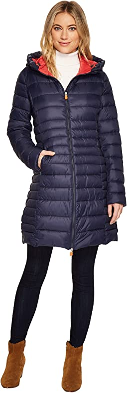 Save the Duck - Long Basic Nylon Coat