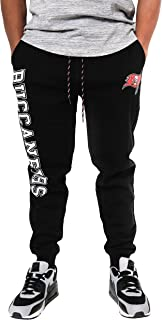 Ultra Game NFL Tampa Bay Buccaneers Men's Active Basic Fleece Jogger Sweatpants, Team Color, X-Large