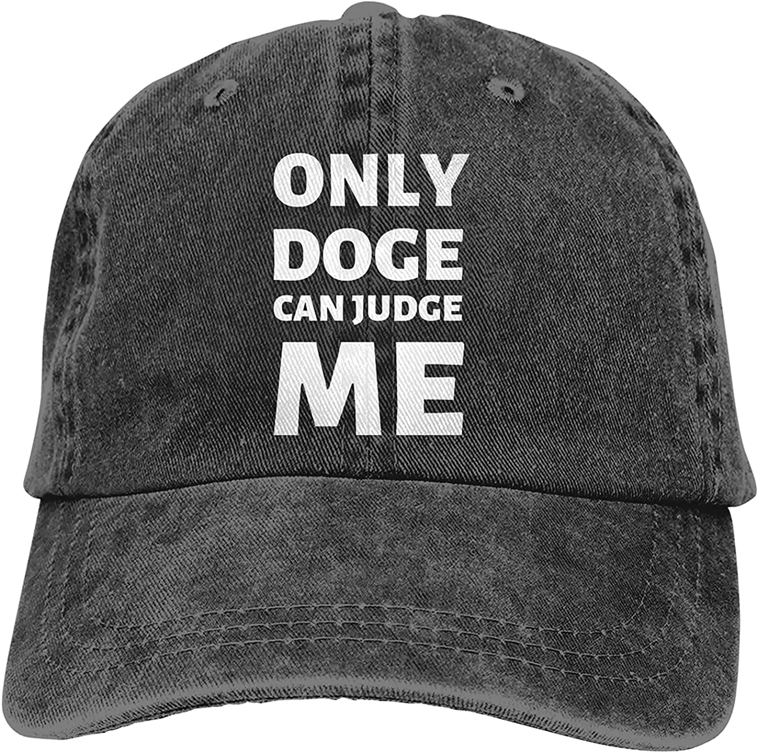 Only Doge Can Judge Me Baseball Trucker Selling Max 51% OFF Cowboy Retro Hat Cap Dad