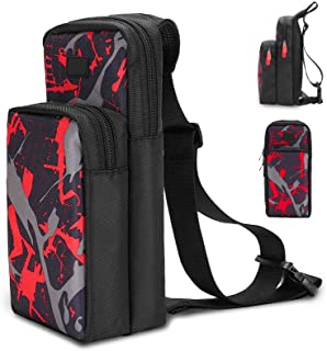INFURIDER Portable Travel Carrying Case for Nintendo Switch, Durable Shoulder Storage Bag Fashion Backpack for Switch/Swit...