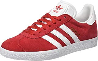 Gazelle - S76228 - Color: White-Red - Size: 4.5