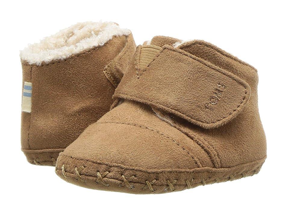TOMS Kids Cuna (Infant/Toddler) (Toffee Microfiber) Kids Shoes