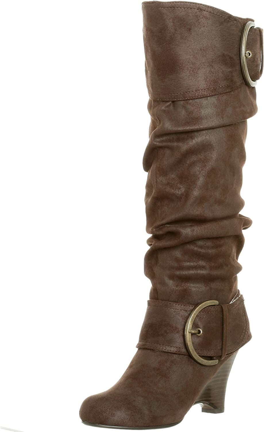 Naughty Monkey Women's Spring new work one after another Boot D-Ring Special price for a limited time