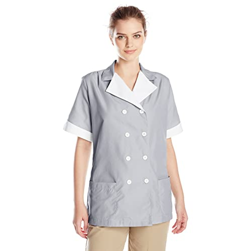 Red Kap Womens Double Breasted Tunic