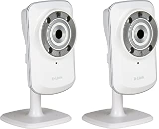 Pack of Two DCS-932L mydlink Wireless-N Network Cameras with night vision