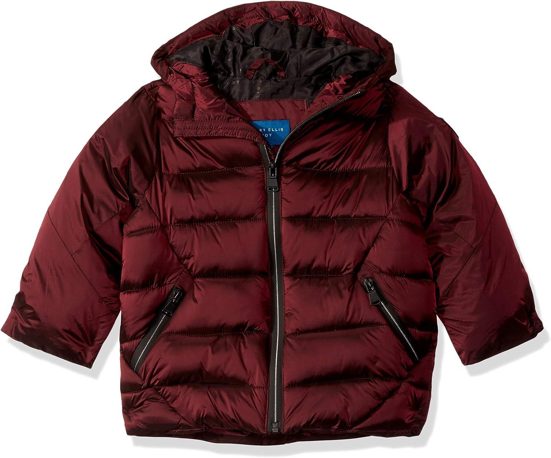 Perry Ellis Boys' Iridescent Puffer Jacket