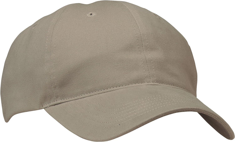 Port & Company  Brushed Twill, Low Profile Cap. CP77  Khaki