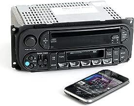 Dodge Jeep Chrysler 02-06 AM FM CD Cassette w Bluetooth Music P05091605AC - RAZ (Renewed)