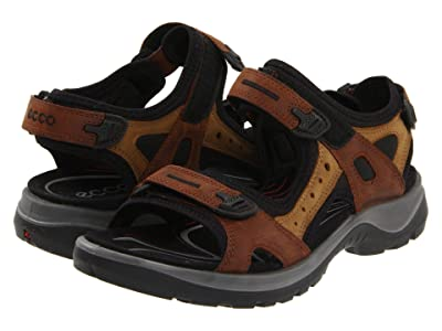 ECCO Sport Yucatan Sandal (Bison/Mineral) Women